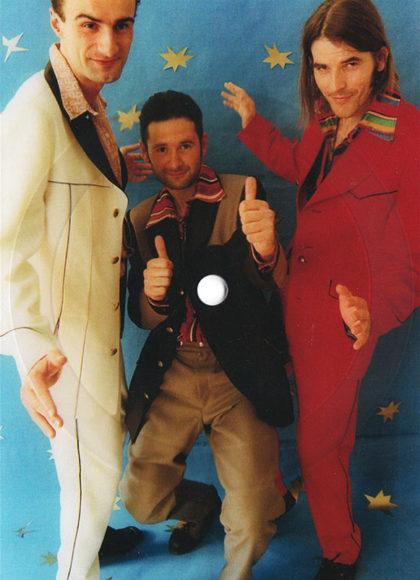 Klaus Tschabitzer, Dieter Preisl und Norbert Trummer, 1994